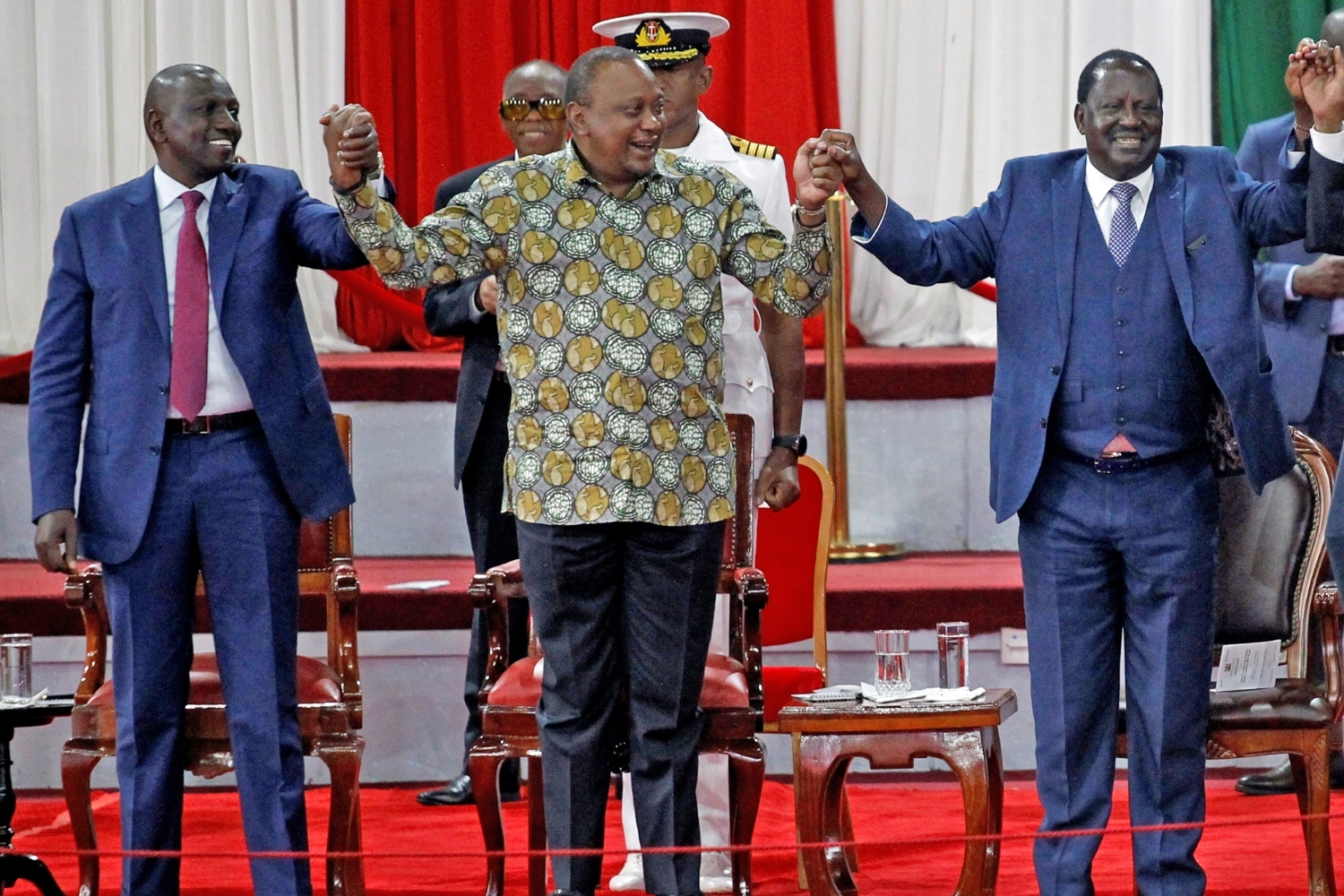 The never-ending battle between Odinga and Ruto to take Kenyatta's place at the State House