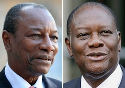 Conde and Ouattara put stamp on mining