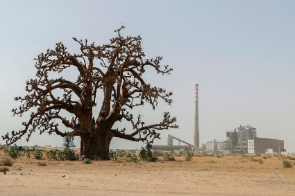 The Sendou power station, Senegal.