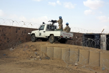Israeli companies will provide equipment to strengthen security at MINUSMA bases (above in Kidal).