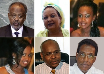 Ismail Omar Guelleh governs family-style with Kadra, Naguib, Saad and co