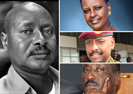 Yoweri, Janet, Muhoozi, Salim…the Musevenis keep their hold on power