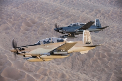 The sale of four Wolverine AT-6C aircraft to Tunisia has been authorized by the United States.