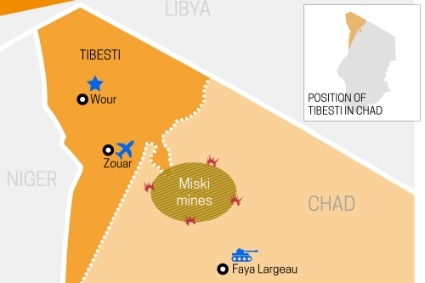 Tibesti, in northern Chad, is at the heart of the conflict between rebels and the military.