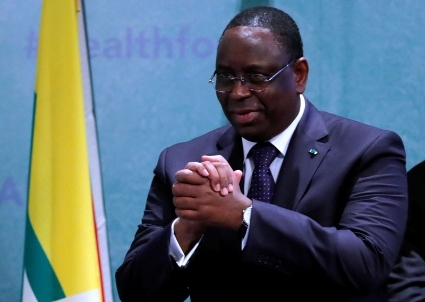 Macky Sall, Senegal's President, already reaping the dividends from the Train Express Regional