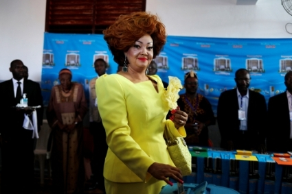 First lady Chantal Biya may have her say in her husband's successor.