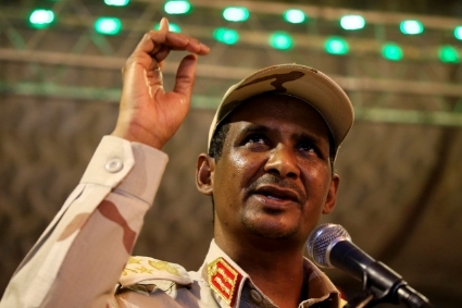 General Mohamed Hamdan Dalgo aka Hemiti, head of the RSF and VP of the Transitional Military Council