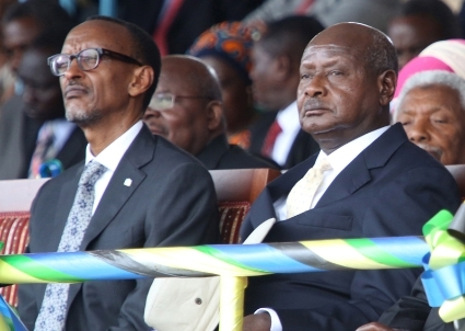 Rwandan president Kagame and his Ugandan counterpart Museveni don't hide their hostility anymore.