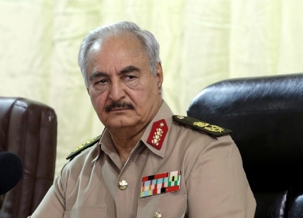 General Khalifa Haftar is in a power struggle with PM Fayez Sarraj over Fezzan region.