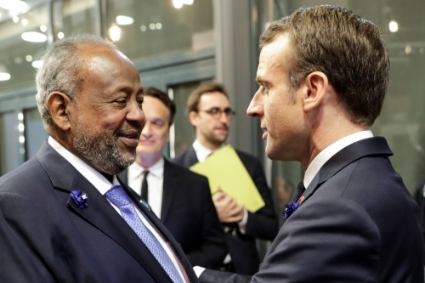 President Emmanuel Macron will meet his Djiboutian counterpart Ismail Omar Guelleh during his tour.