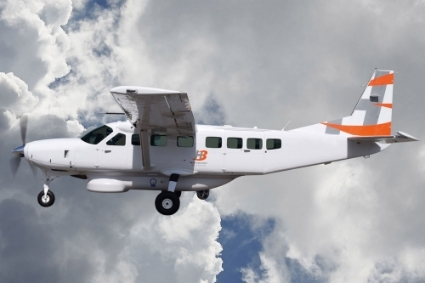 H3 Icarus ISR, a Cessna Caravan 208 converted for intelligence missions by  H3 Mission Systems.