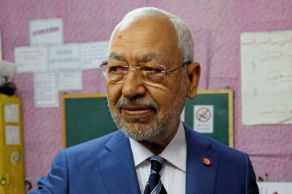 Rached Ghannouchi, head of the Ennahda party.