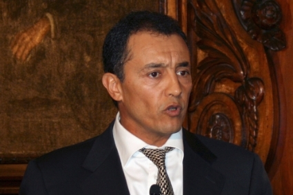 Ahmed Reda Chami, head of the Moroccan diplomatic mission to the EU.