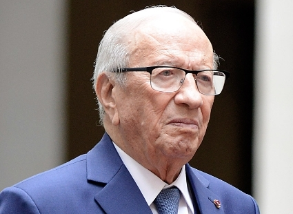 President of the Republic of Tunisia Beji Caid Essebsi.