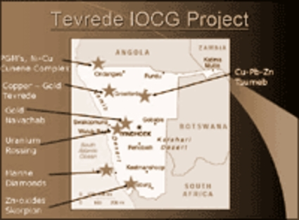 Tevrede IOCG Project