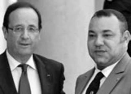 Who put an end to rift between Paris and Rabat?