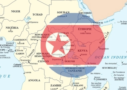 North Korea in East Africa