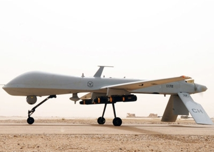 An MQ-1B Predator from the 361st Expeditionary Reconnaissance Squadron