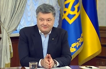 Petro Poroshenko on Sep. 21, 2014 - YouTube/Official channel of Petro Poroshenko