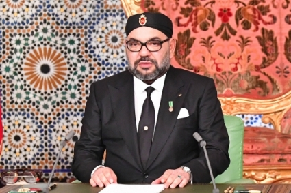 King Mohammed VI of Morocco.