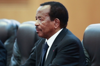 President of Cameroon Paul Biya.