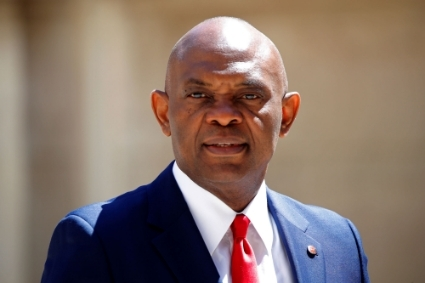 Tony Elumelu, the chairman of the Nigerian banking giant United Bank for Africa.