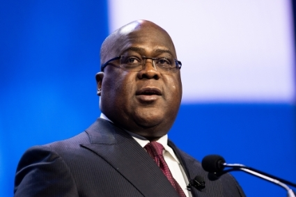 Félix Tshisekedi, President of the DRC.
