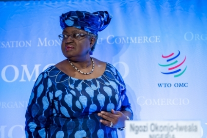 WTO new Director-General Ngozi Okonjo-Iweala.