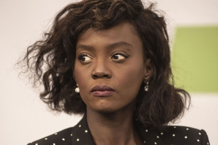 French former junior human rights minister Rama Yade.