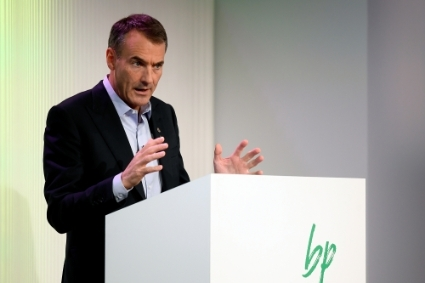 BP boss Bernard Looney.