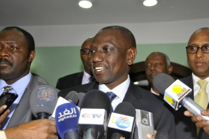 Kenya's Vice President William Ruto.