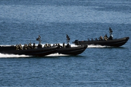 The Congolese navy has for several months been operating at least three Russian BK-10 assault boats.