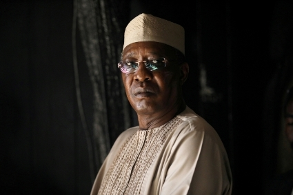 Chad's president Idriss Déby, who died on 20 April.