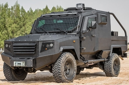 MSPV's Panthera T2 uses Toyota Land Cruiser 79s as a base.