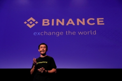 Changpeng Zhao, CEO of Binance.