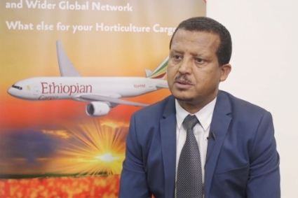 Fitsum Abadi, managing director of Ethiopian Airlines Cargo & Logistics Services.