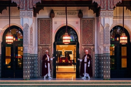 Marrakesh's legendary luxury hotel La Mamounia.