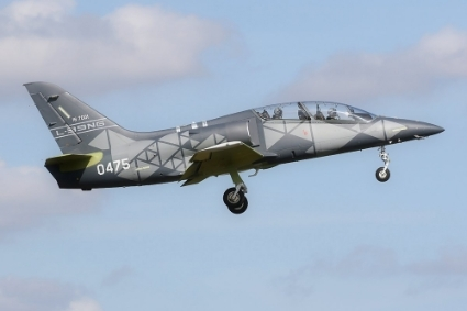 An L-39 NG light combat and training aircraft.