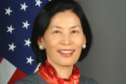 US Chargé d'Affaires Inmi Patterson.