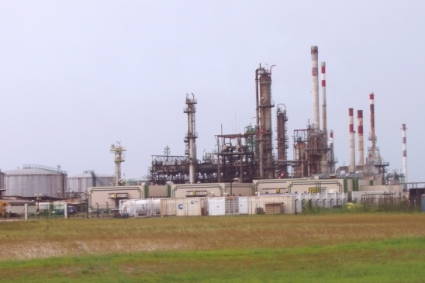SOGARA refinery in Port Gentil. The contract to lift the company's atmospheric residues is up for bids.