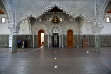 An example of Sotcob's work: Mohammed VI Mosque in Saint-Etienne (France).