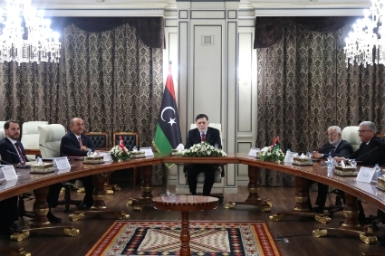 Turkish Foreign Minister Mevlüt Çavusoglu was on a trip to Tripoli on 17 June, along with the head of the Turkish intelligence agency MIT, Hakan Fidan, as Ankara seeks to weigh in on the overhaul of Libyan intelligence.