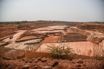 Nampala open air gold mine in Mali, operated by Robex Resources.