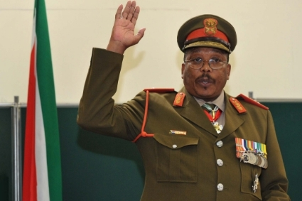 SANDF chief of staff Solly Shoke.