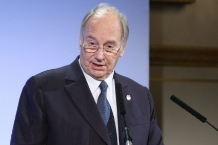 Prince Shah Karim Al Husaini, known as the Aga Khan, the spiritual leader of Ismaili Muslims and tycoon whose empire is spearheaded by Jubilee in eastern Africa.