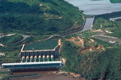 The giant Inga III dam project.