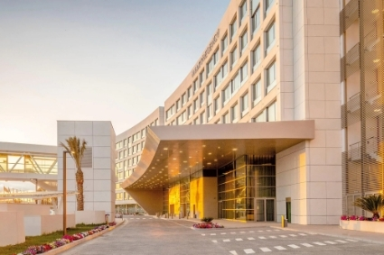 The new Hyatt Regency hotel at Algiers airport.