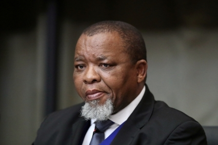 Mineral and Energy Resources Minister Gwede Mantashe.