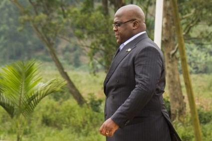 President of the Democratic Republic of Congo Félix Tshisekedi.