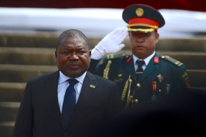 President of Mozambique Filipe Nyusi.